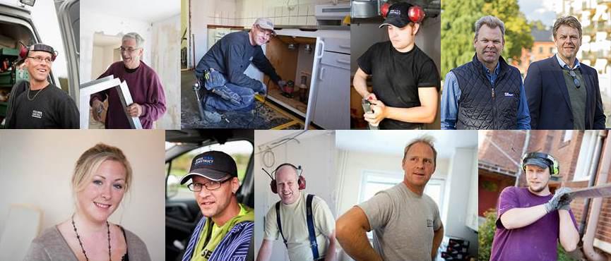 Medarbetarkollage ByggConstruct